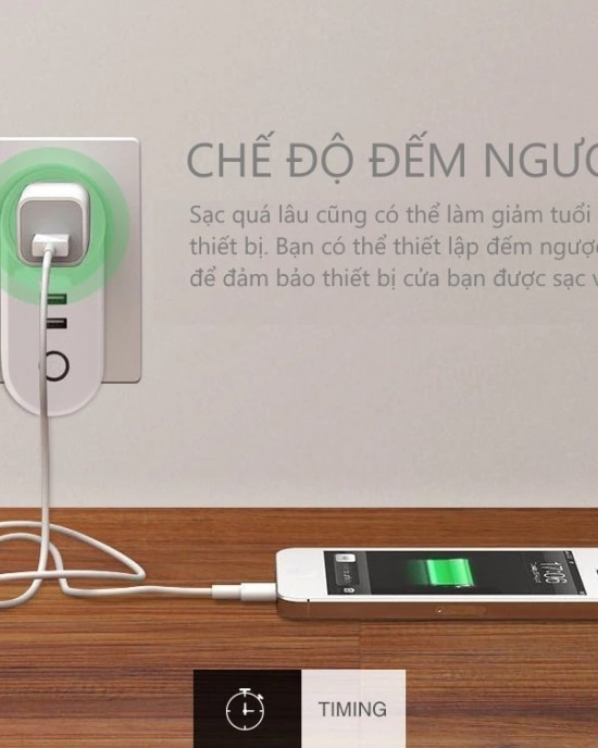 ES2USB - Phích cắm WiFi thông minh eWelink