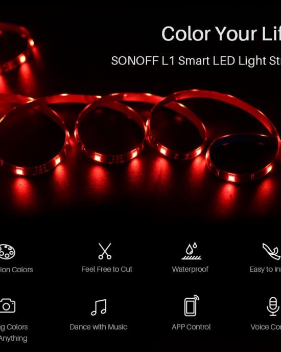 LED L1 - Dây đèn LED đổi màu thông minh