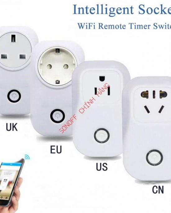 S20 EU/AU - Phích cắm WiFi thông minh