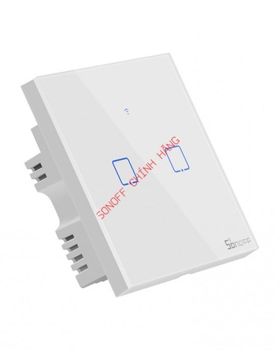 T1 1/2/3 cổng chuẩn EU/UK - Công tắc WiFi RF cảm ứng