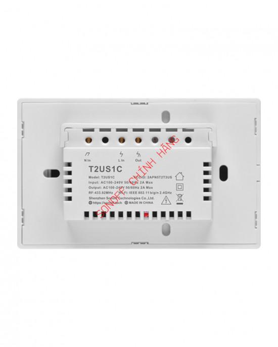 T2 1/2/3 cổng chuẩn EU/UK/US - Công tắc WiFi RF cảm ứng