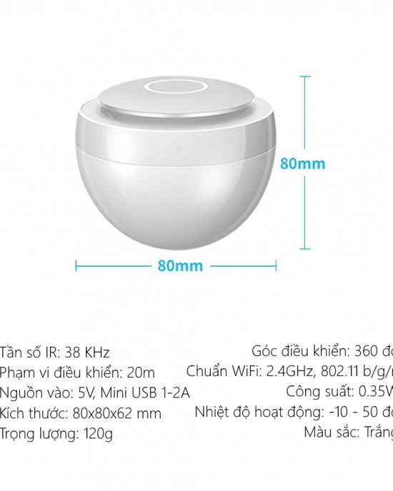 EIRDC666 - trung tâm điều khiển hồng ngoại