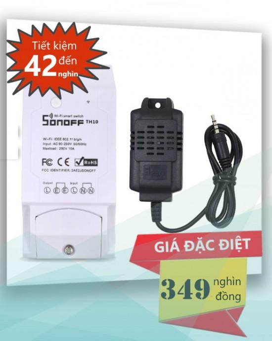 CBTH10A - Bộ thiết bị thu thập nhiệt độ, độ ẩm