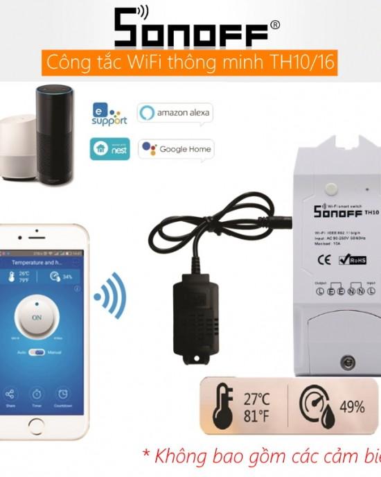 CBTH16A - Thiết bị thu thập nhiệt độ, độ ẩm WiFi thông minh
