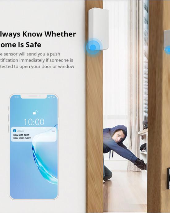 SONOFF DW2 - Cảm biến mở cửa thông minh Wi-Fi