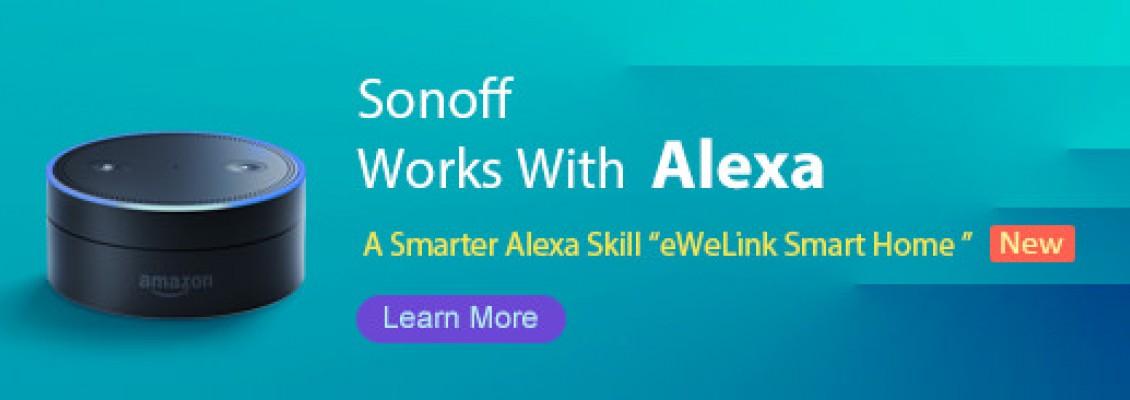 Hướng dẫn sử dụng Alexa với các sản phẩm Sonoff Việt Nam