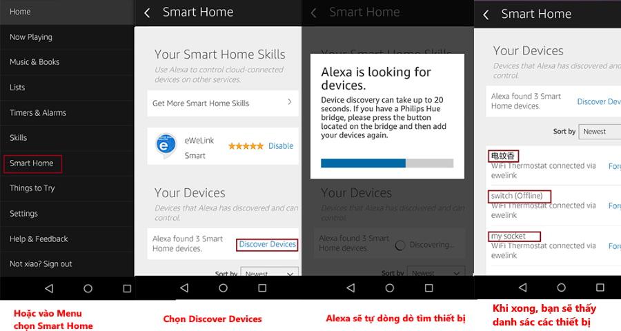 Điều khiển thiết bị Sonoff qua giọng nói với Alexa